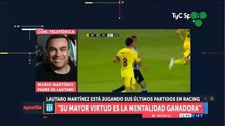 El padre de Lautaro Martínez confirmó negociaciones con el Dortmund