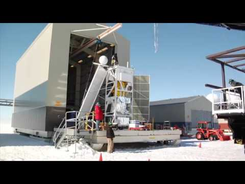 Antarctic balloon study by NASA