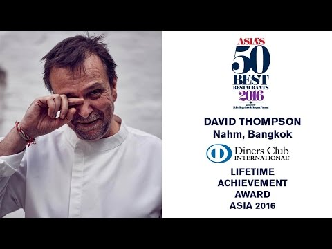 Nahm chef David Thompson wins the Diners Club Lifetime Achievement Award for Asia 2016