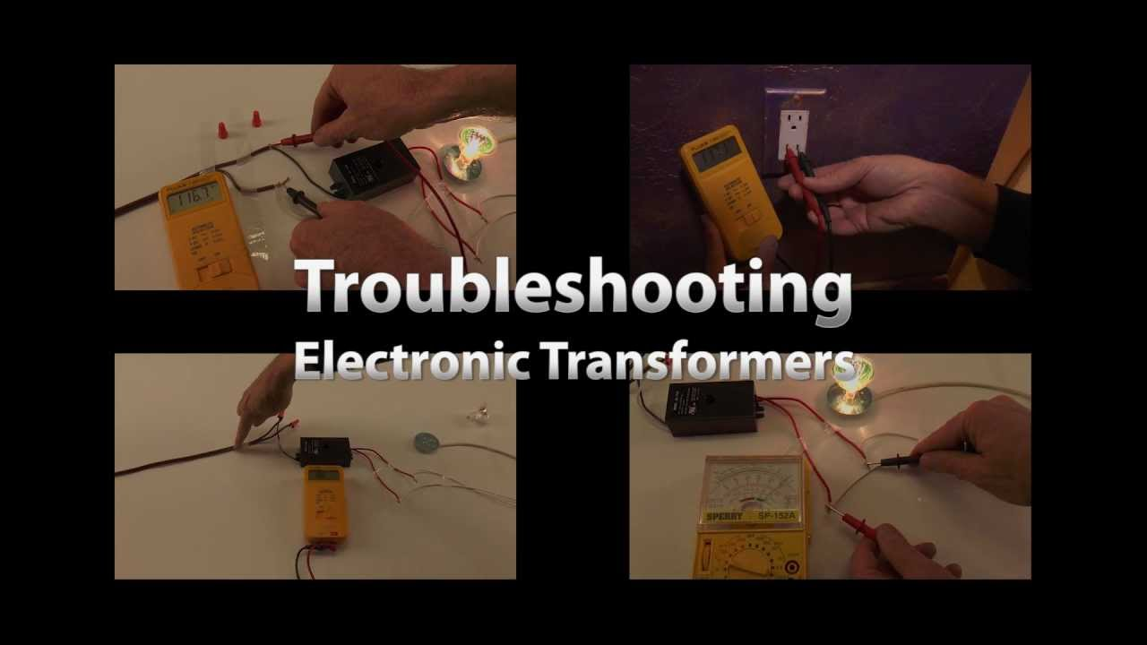 small resolution of low voltage electronic transformer troubleshooting guide by total transformers youtube