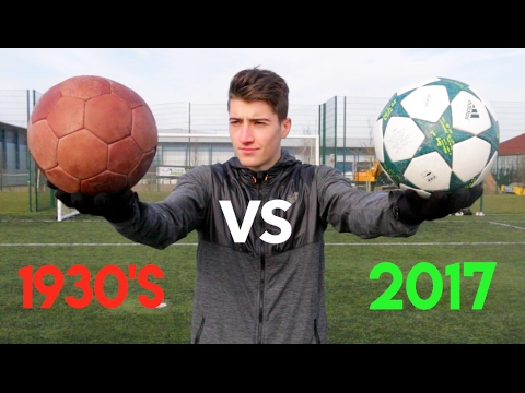 1930's Vs. 2017 FOOTBALL!! - What's the Difference??