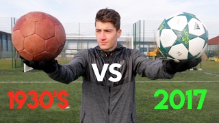 One of Kieran Brown's most viewed videos: 1930's Vs. 2017 FOOTBALL!! - What's the Difference??