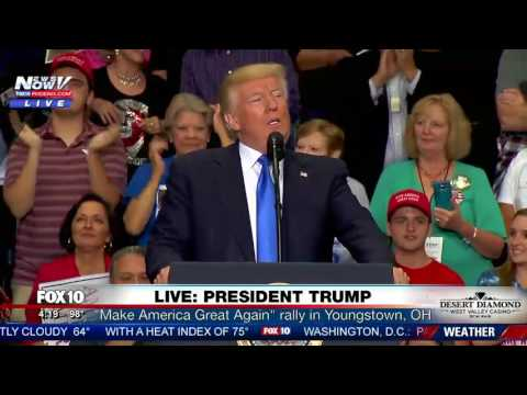 FULL: MAGA President Trump Rally In Youngstown, Ohio (FNN)