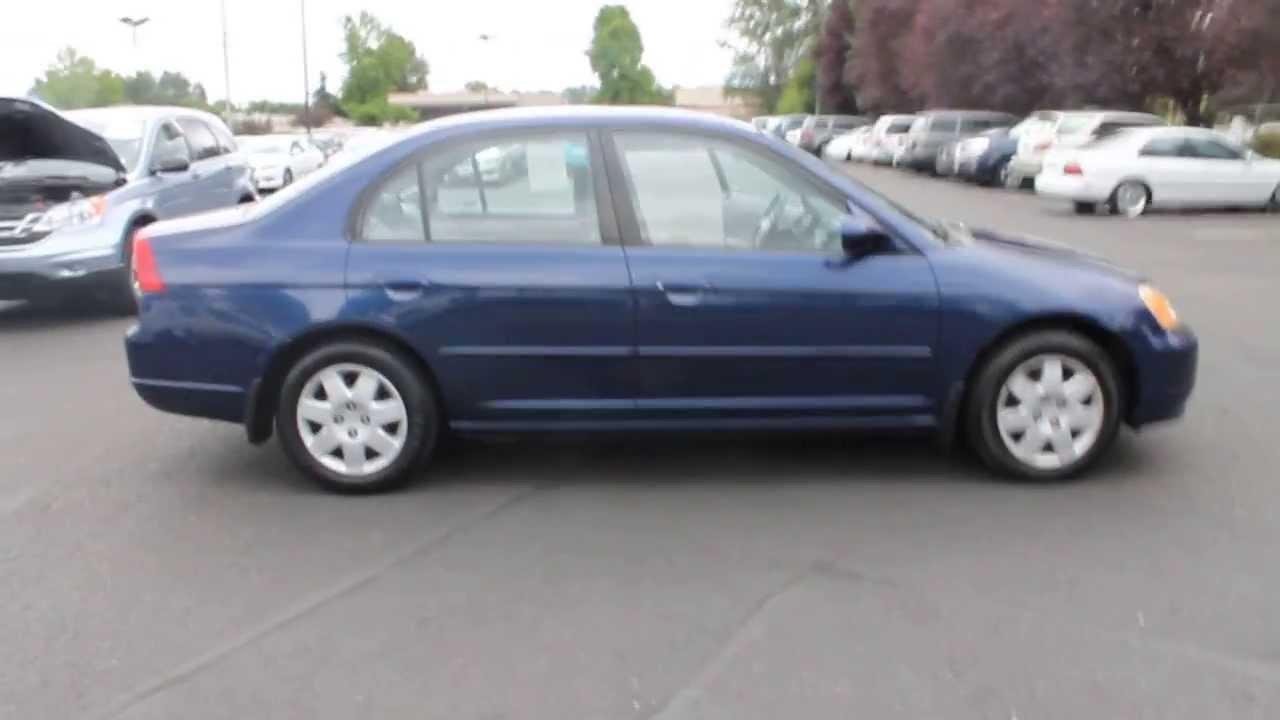 2002 Honda Civic Navy Blue Stock 730916 Youtube