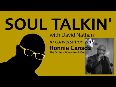 Ronnie Canada interview with David Nathan of soul music dot com