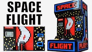 LEGO arcade game - Space flight