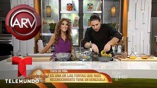 Al Rojo Vivo  | Torta de Piña Volteada #1 | Telemundo ARV