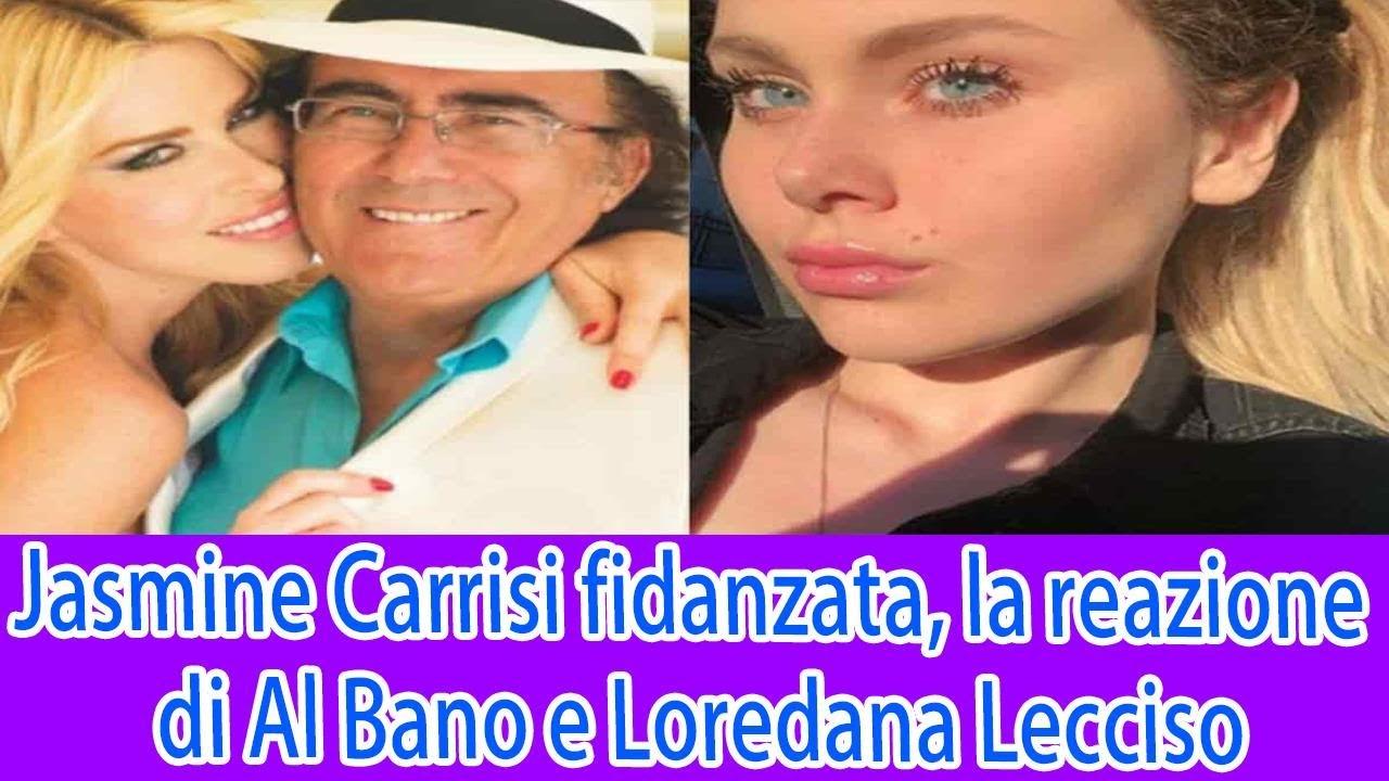 Jasmine Carrisi fidanzata, la reazione di Al Bano e Loredana Lecciso