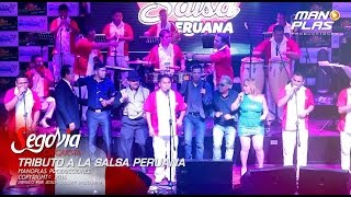 Laura Mau-Willy Rivera-Pochy Barreto-Segovia Orquesta - Tributo a la Salsa Peruana FULL HD
