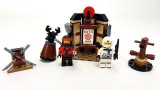 The LEGO Ninjago Movie Set 70606 - Spinjitzu-Training / Unboxing & Review deutsch