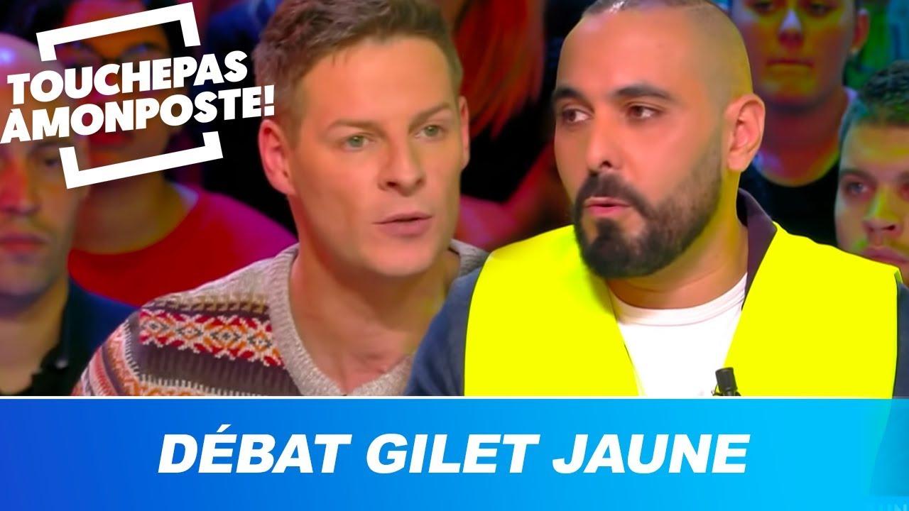 Matthieu Delormeau interpelle un gilet jaune :