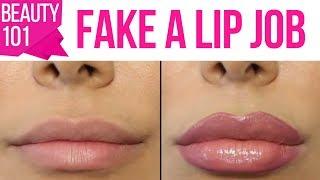 One of Huda Beauty's most viewed videos: How to Fake a Lip Job (For Real) Using a Lip Plumper! \كيفيّة تزييف عمليّة تكبير الشفايف
