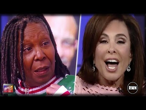 KARMA! Whoopi Just Got Horrible News Today After Tirade On Judge Jeanine Last Week