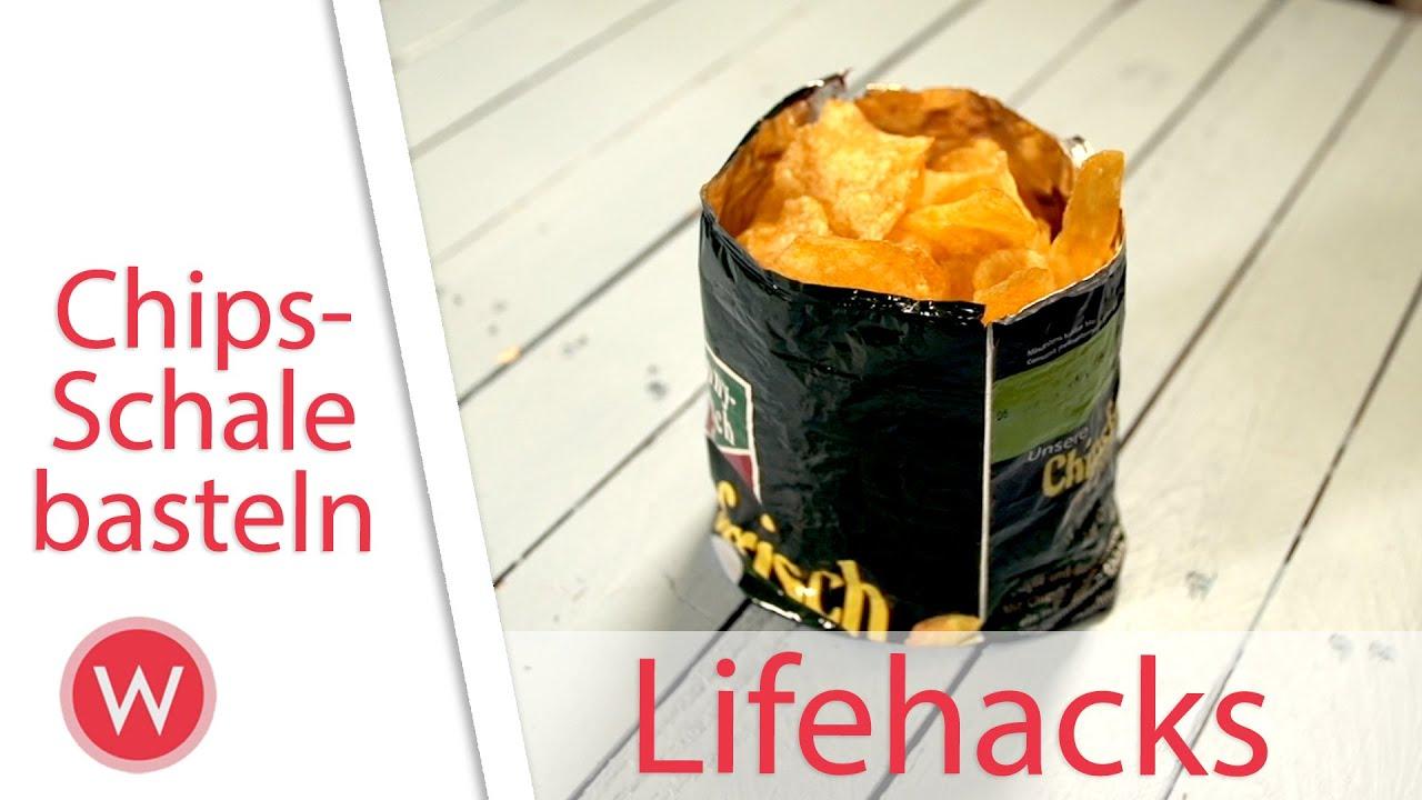 Lifehack chipst te ohne klammer verschlie en - Wunderweib basteln ...