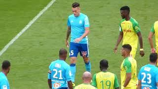 Nantes -  OM  le match 12 08 17 Ligue 1