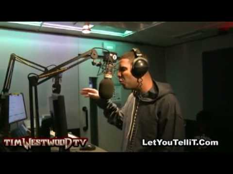 Drake In Studio Freestyle Live On Air