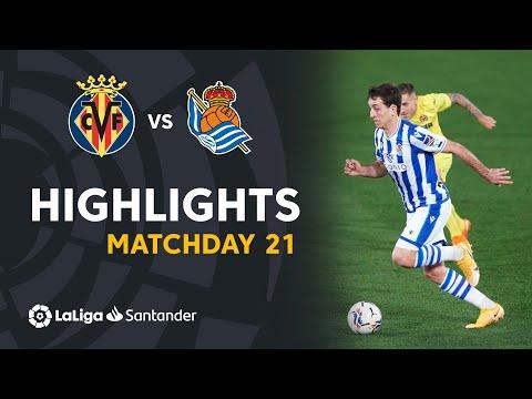Villarreal Real Sociedad Goals And Highlights