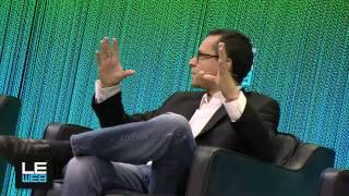 Bradley Horowitz, VP of Product, Google and Loic Le Meur, Co-Founder, LeWeb