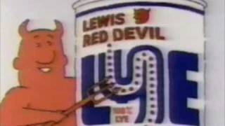 Red Devil Lye Drain Opener Commercial