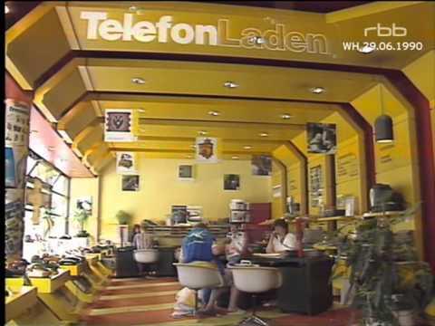 Berliner Abendschau - Postmonopol für Telefone fällt [29.06.1990]