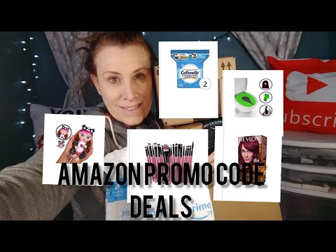 Amazon Promo code deals ❤️ most are available!