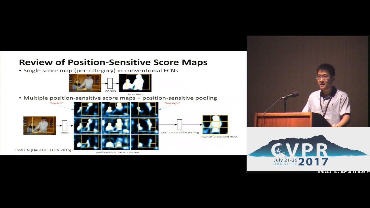 Fully Convolutional Instance-Aware Semantic Segmentation | Spotlight 3-1B