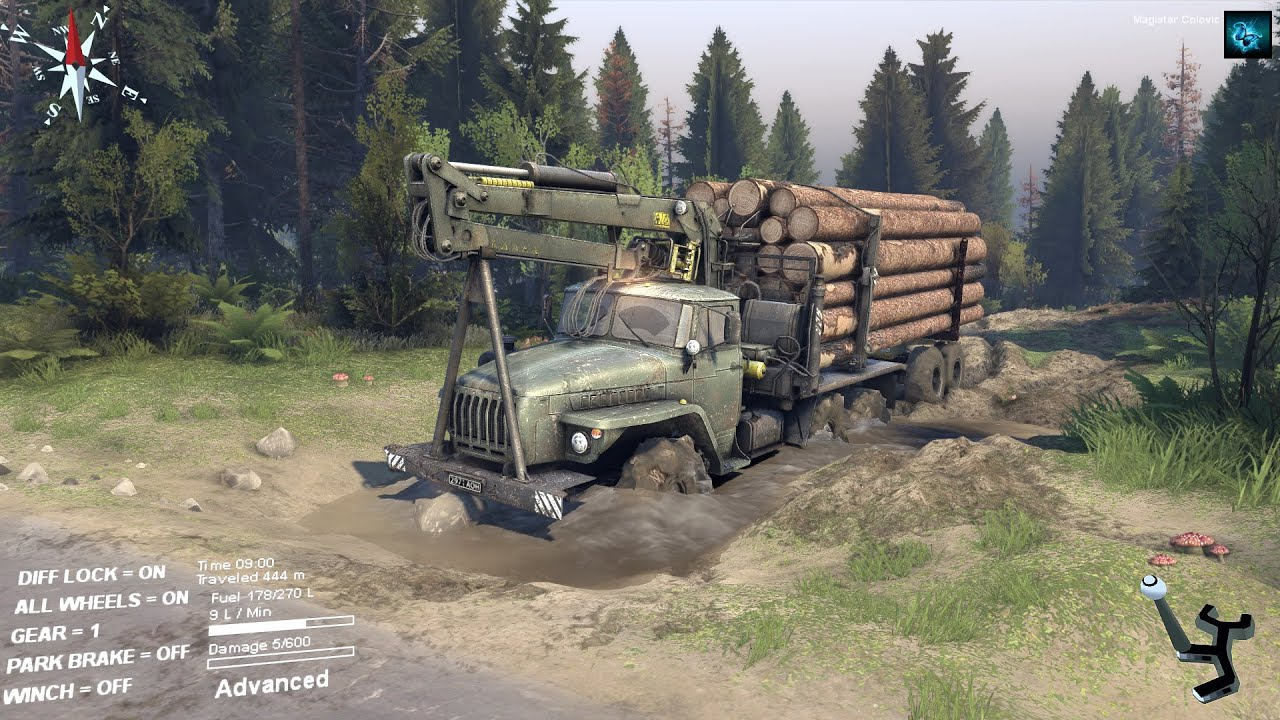 how to create a truck in spintires
