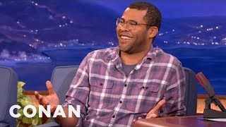 Jordan Peele On Meeting President Obama - CONAN on TBS