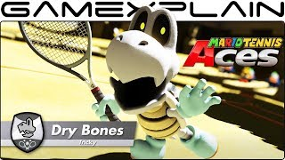 Mario Tennis Aces - Dry Bones  DLC Reveal Trailer (Nintendo Switch)