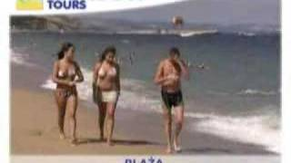 Plaża w Złotych Piaskach, Bułgaria