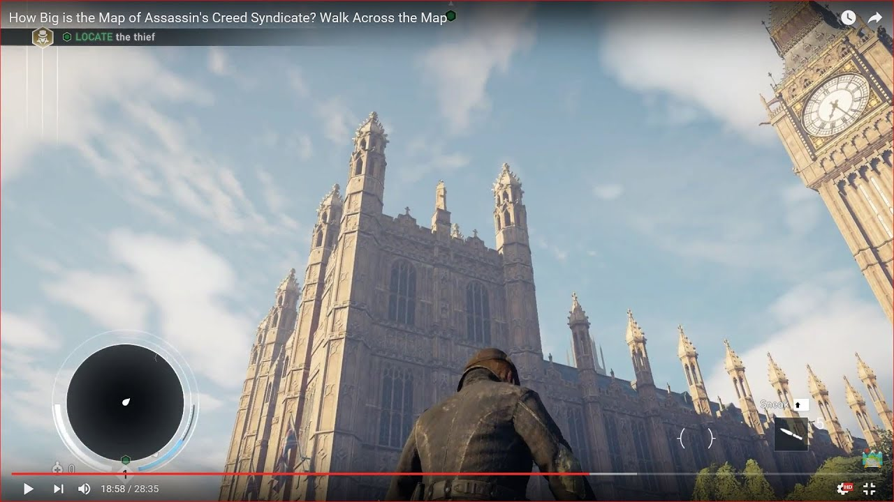 How Big Is The Map In Assassin S Creed Syndicate Walk Across The