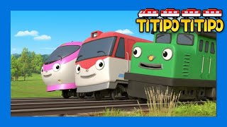 Titipo Opening Song l Meet a new friend of Tayo l Train Song l TITIPO TITIPO