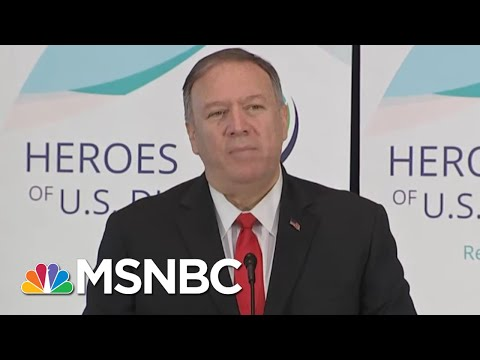 Trump's Ukraine Phone Call: Mike Pompeo Was In The Room Where It Happened | The 11th Hour | MSNBC