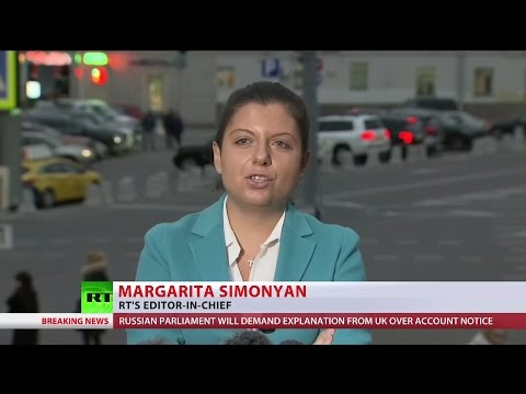 RT UK bank account closure - Editor-in-Chief speaks out - 17.10.16