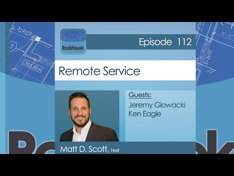 ResiWeek 112: Remote Service