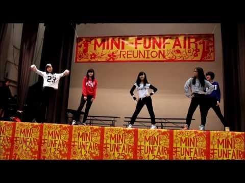 SSGC mini fun fair 2014 kpop dancing