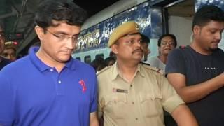 Sourav ganguly Train Journey\\ dada ki train yatra