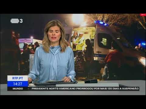 Vila Nova da Rainha Tondela-Incendio urbano que fez oito mortos e mais de 30 feridos.