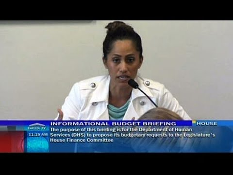 Rep. Tupola questions DHA in the Committee of Finance