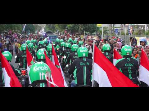 [Malang] Pawai Obor Asian Games 2018 Bersama Grab Malang