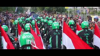 Download Video [Malang] Pawai Obor Asian Games 2018 bersama Grab Malang MP3 3GP MP4