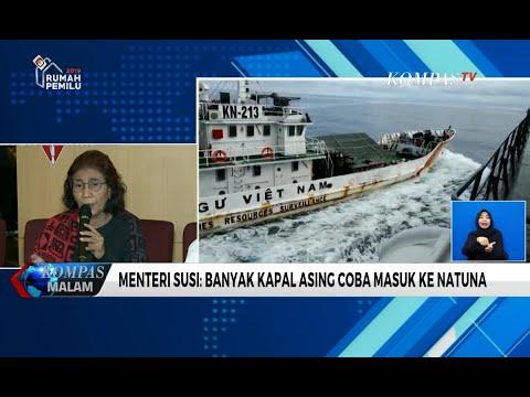 Soal Insiden di Natuna, Susi Pudjiastuti Tegaskan Kapal Vietnam Langgar Wilayah