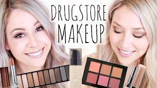 drugstore full face makeup first impressions