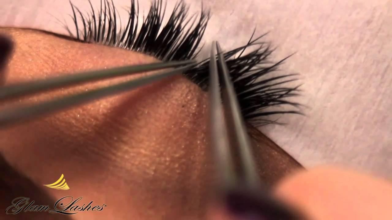 Glam Lashes Training Video 1 Youtube