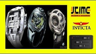 a535c10ce54 Curiosidade  Bonitos e Exóticos   Exotic and Beautiful Watches - By Jtime  Relógios Invicta Brazil