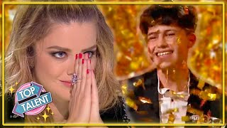 GOLDEN BUZZER | 16 Year Old PIANIST IMPRESSES On Romania's Got Talent 2021! | Top Talent