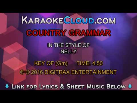 Nelly  Country Grammar Backing Track