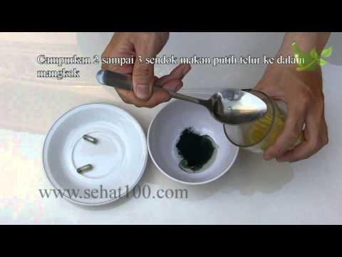 Cara Membuat Masker Spirulina