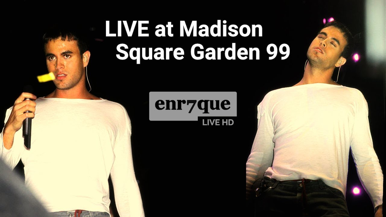 Enrique Iglesias - Rhythm Divine (LIVE at Madison Square Garden 99, HD Audio)