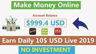 ... hi everyone today i tell you about new free usd earning si...